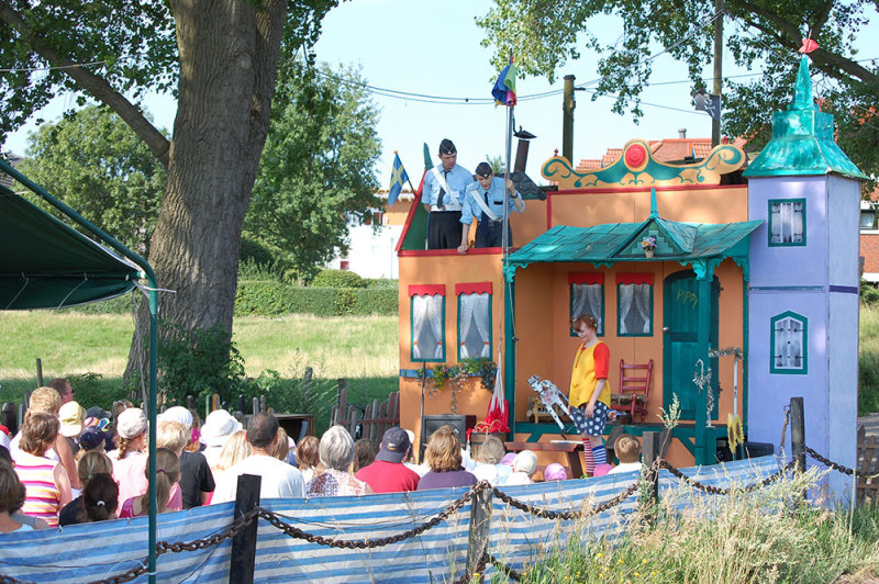 Pippi Langstrumpf Open-Air-Kindertheater